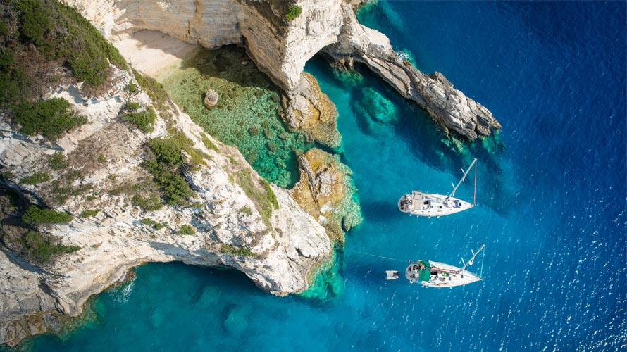 Sail in Greece, Yacht charter in Greece, Paxos
